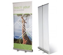 Roll-Up Aluminio 84x204 cm