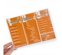 Flyer A4 Papel 135g Brillo