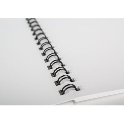 Calendario Sobremesa con 12 pág. y espiral 16x15 cm.