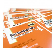 Flyer -Ficha A4 Papel 300gr Barniz Brillo