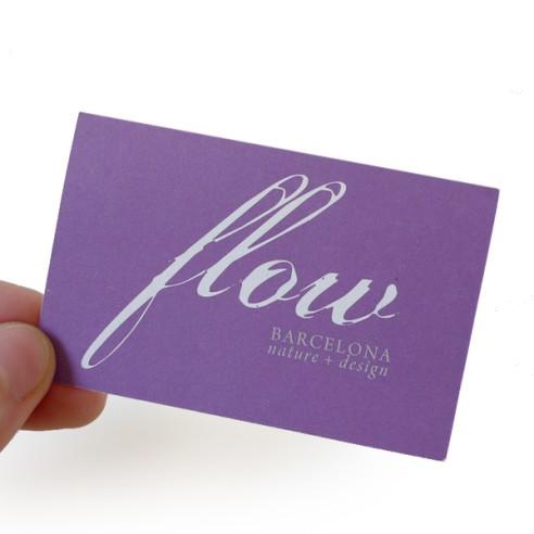 Flyer -Ficha A4 Papel 300gr Barniz Brillo