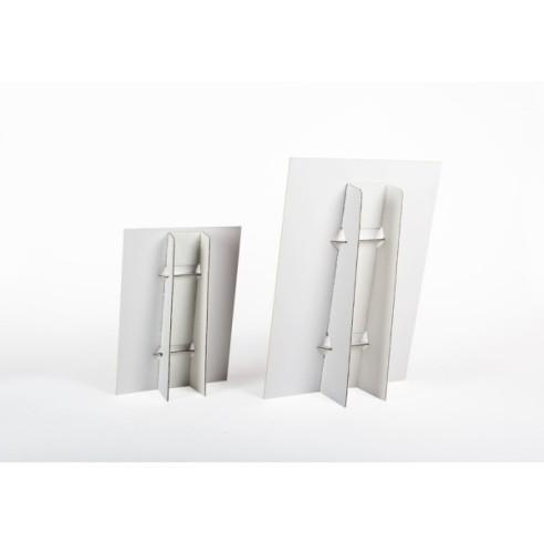 Díptico o Tríptico A3 abierto papel 300 grs + plastificado 2 caras