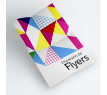 Flyer A5 Papel 135g Brillo
