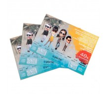 Mantel a todo color (4t cmyk)  papel Offset laser 90g