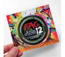 Flyer 14x14 Papel 300g Brillo